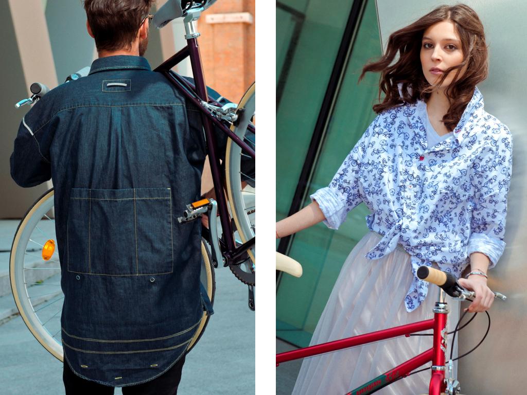 Prima colectie de camasi pentru biciclisti semnata Braiconf si atelierele Pegas