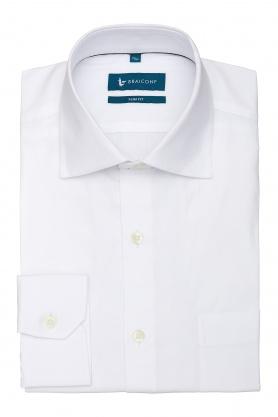 Camasa alba slim fit business pentru barbati