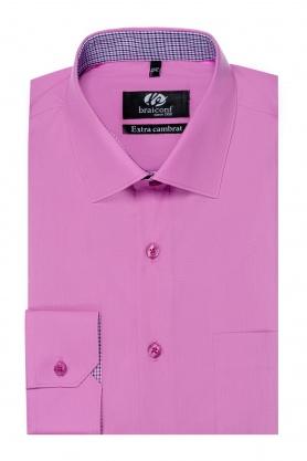 Camasa cu maneca lunga roz