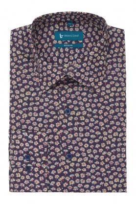 Camasa clasica cu print floral