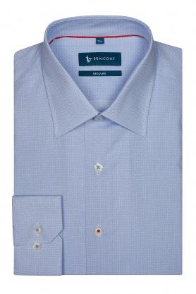 Camasa bleu cu forme geometrice