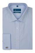 Camasa bleu Easy-Care super slim fit