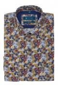 Camasa Royal cu print floral multicolor