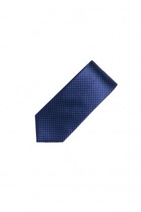 Cravata din matase bleumarin
