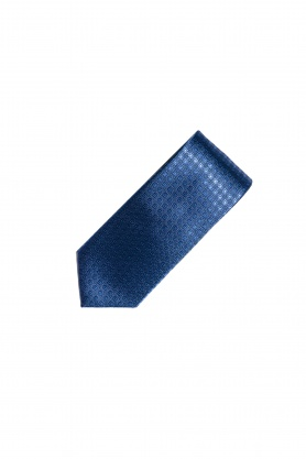 Cravata albastra din matase