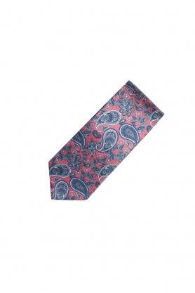 Cravata din matase cu desene