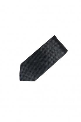 Cravata neagra din matase