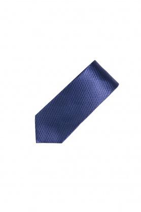Cravata bleumarin din matase