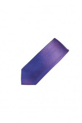 Cravata violet cu desene
