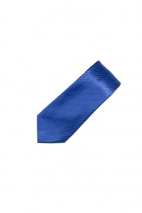 Cravata albastra uni