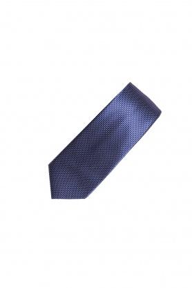 Cravata bleumarin cu picouri