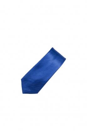 Cravata bleu in dungi fine