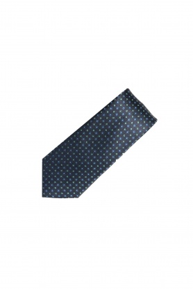 Cravata neagra cu desene