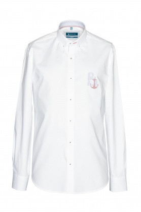 Camasa alba cu guler button down