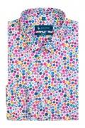Camasa cu print multicolor pentru barbati