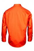 Camasa culoare portocaliu cu maneca lunga pentru barbati