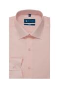 Camasa easy-care roz uni maneca lunga