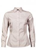 Bluza dama office culoare alb cu picouri grena
