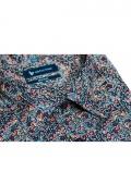 Camasa casual cu printuri multicolore pentru barbati