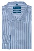Camasa din bumbac culoare bleu pentru barbati