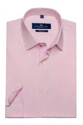 Camasa Royal cu dungi roz