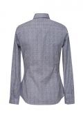 Bluza dama office culoare bleumarin cu maneca lunga