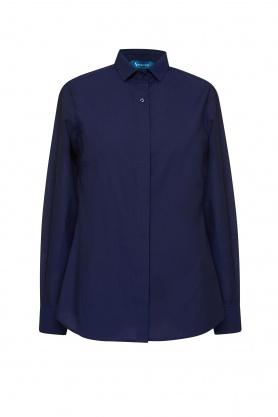 Bluza de dama bleumarin cu maneca lunga