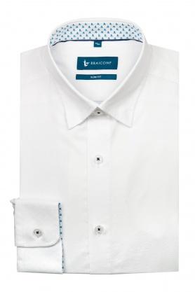 Camasa alba uni pentru barbati