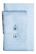 Camasa smart-casual, cu o croiala clasica, realizata din tesatura cu compozitie mixta de bumbac si lana fina