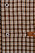 Camasa print din bumbac clasic, maneca lunga-100% bumbac
