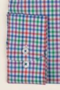 Casual & confortabil - Camasa cu print, maneca lunga,100% bumbac