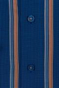 Casual & confortabil - Camasa cu print, maneca scurta, 100% bumbac