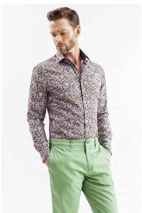 Camasa pentru barbati cu desene multicolore